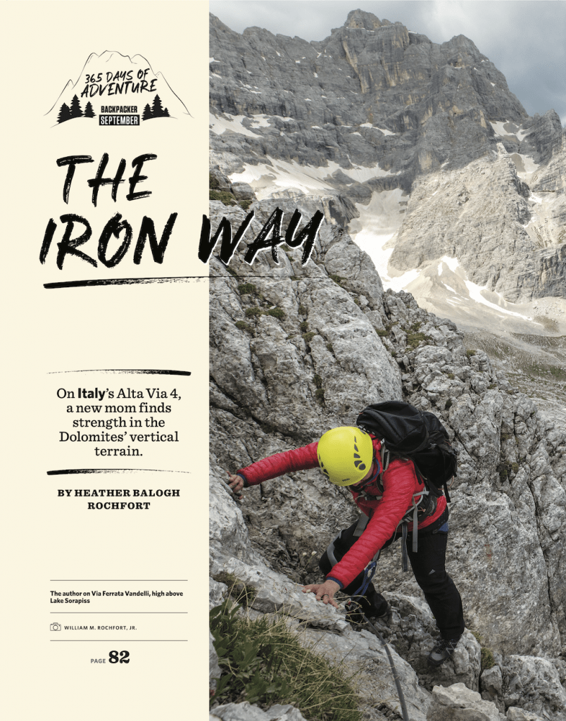 Backpacker The Iron Way